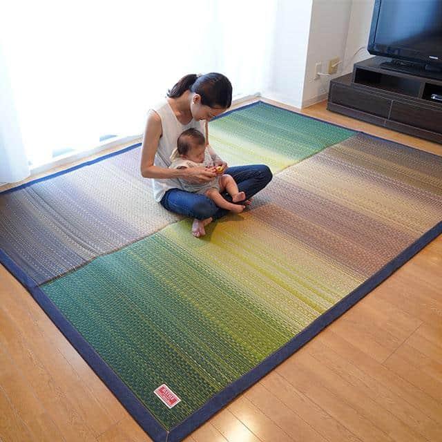 畳のラグマット「デニムFジョイ」