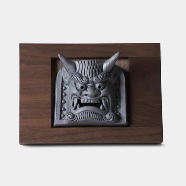 【三州鬼瓦】鬼瓦家守(新東)室内に飾る鬼瓦:石川智昭