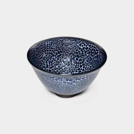 【京焼-清水焼】陶葊 青霰天目 盃