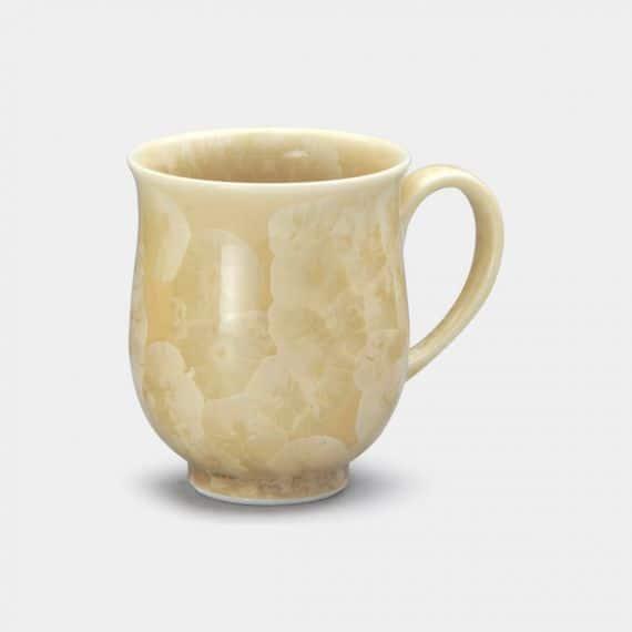 【京焼-清水焼】陶葊 花結晶 (金花) マグカップ