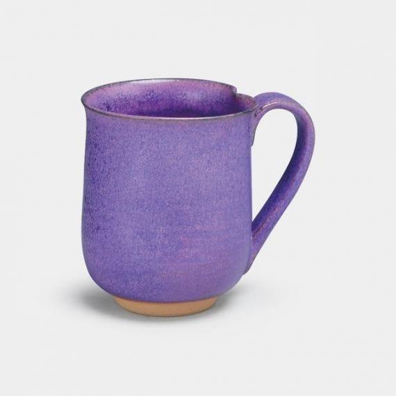 【京焼-清水焼】端松 紫式部 マグカップ