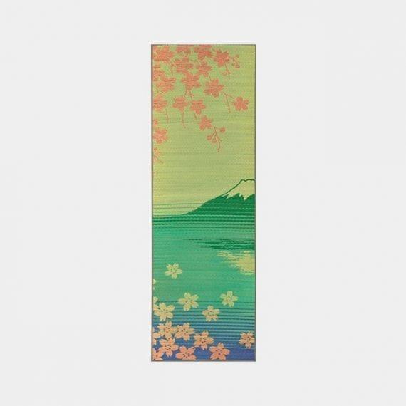 【い草-畳】イケヒコ い草ヨガマット SAKURA 富士 [60×180㎝]
