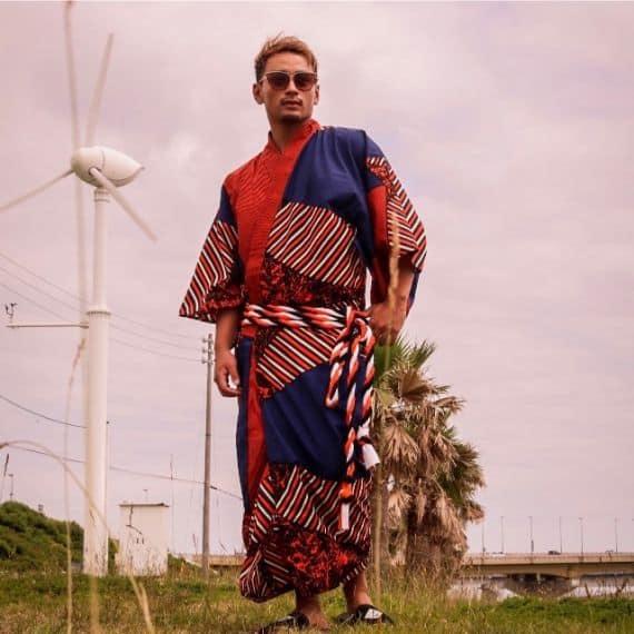 VEDUTA 浴衣&帯:Masai