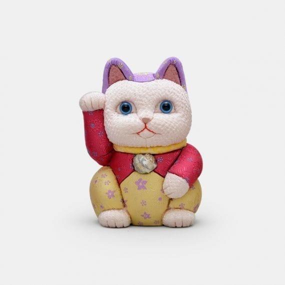 柿沼人形 招き猫 光彩