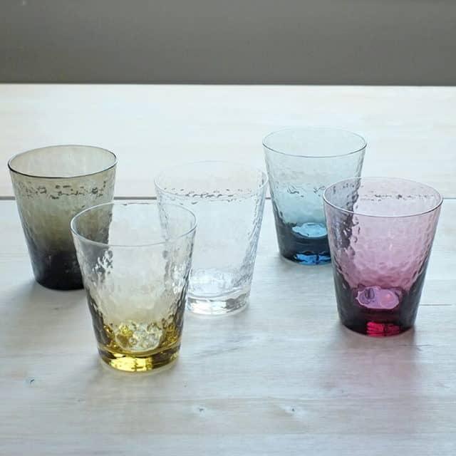 Sghr スガハラ ディンプル グラス