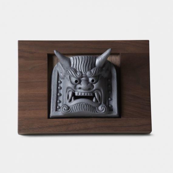 【三州鬼瓦】鬼瓦家守 (新東) 室内に飾る鬼瓦:石川智昭