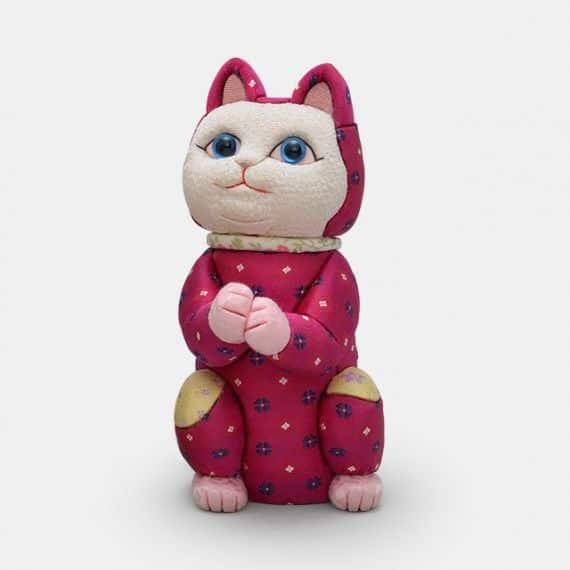 柿沼人形 招き猫 星に願いを (光彩)