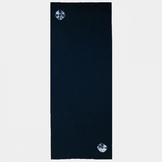 【京鹿の子絞】ヨアケ 傘巻き絞り手ぬぐい (濃藍)