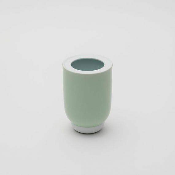 【有田焼】2016/ ポーリーン デルトゥア 花瓶 S (ホワイト/セラドン/ホワイト)