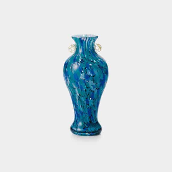 【津軽びいどろ】北洋硝子 (アデリア) 紫陽花 花瓶 (小)