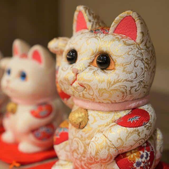 金運や千客万来の効果がある「招き猫」