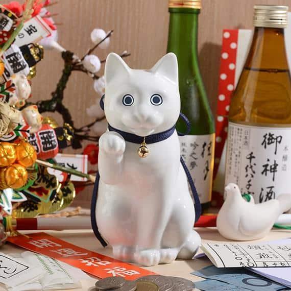 【肥前吉田焼】Kata Koto へそくりの招き猫