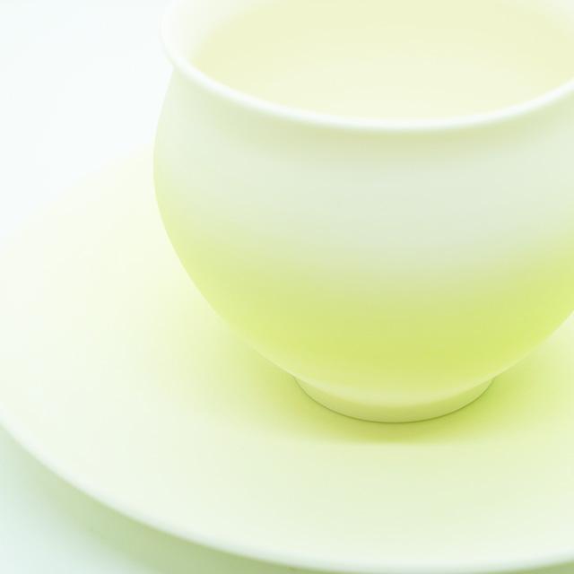 【陶芸家】藤岡光一 ゆきあかりカップ-レモン