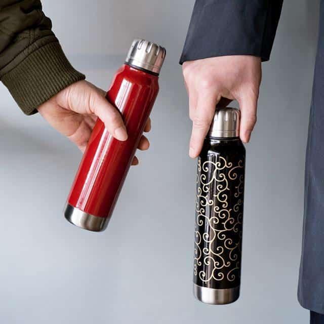 【越前漆器】thermo mug × 土直漆器 うるしアンブレラボトル