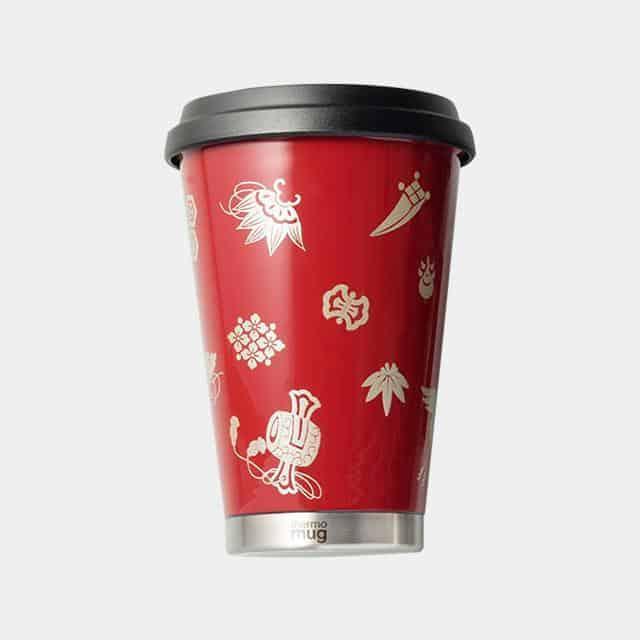 【越前漆器】thermo mug × 土直漆器 うるしモバイルタンブラー 宝尽くし