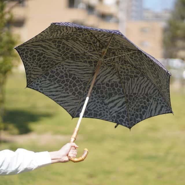 【手捺染】鷲野染工場 日傘