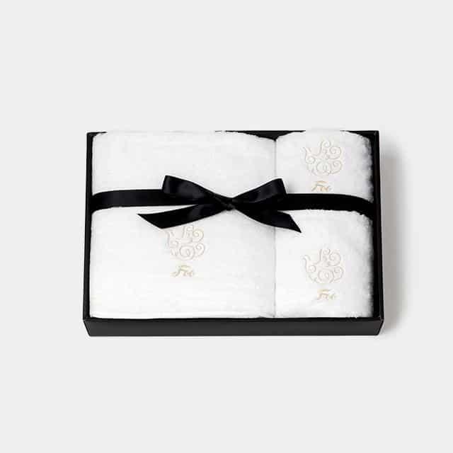 【今治タオル】Foo Tokyo オーガニックコットン バスタオル&フェイスタオル&ハンドタオル 各1枚入り ギフトセット