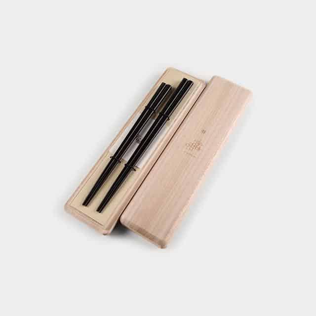 【高級箸】箸蔵まつかん 若狭塗箸の夫婦箸 櫻(さくら)夫婦