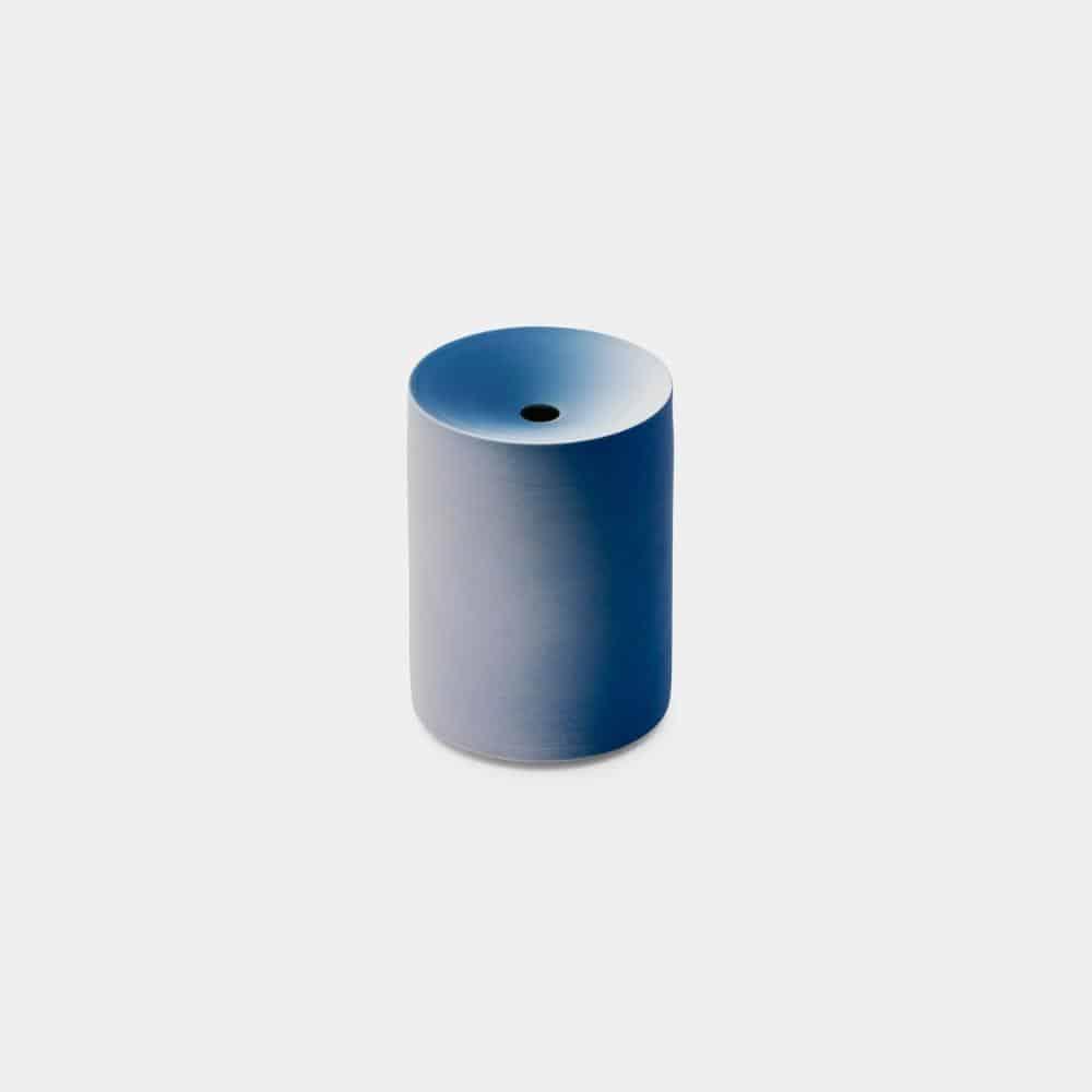 【有田焼】2016/ クーン カプート 花瓶 S (ライトブルー-ブルー)