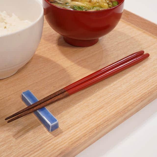 【高級箸】箸蔵まつかん 食洗対応箸 漆一条 21.5cm