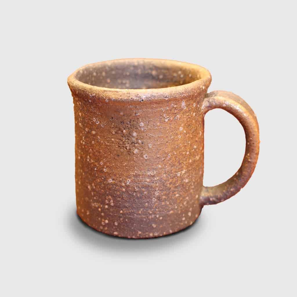 【伊賀焼】ましの窯 焼締 マグカップ