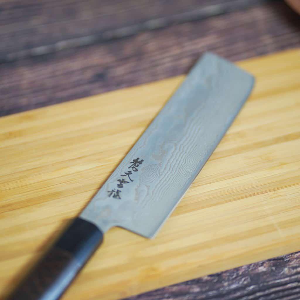 【越前打刃物】龍泉刃物 梵天雲龍 和 菜切165mm
