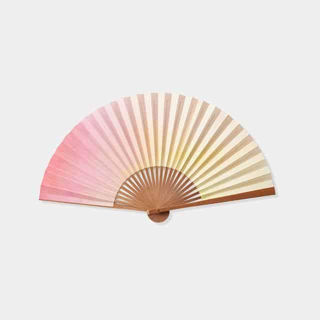 【京扇子】大西常商店 色は匂へと 香りの扇 うつし香 春めく×桜香
