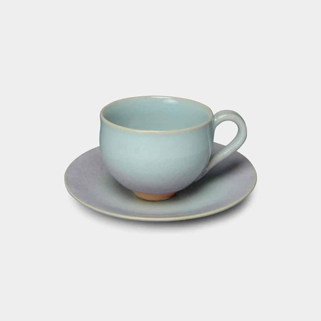 【京焼-清水焼】大日 HiBiKi 月白 コーヒーカップ