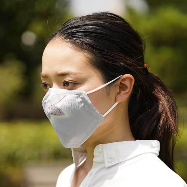 【京友禅】京都の染屋がつくった™ KINUMASK 角型 (男女兼用) B