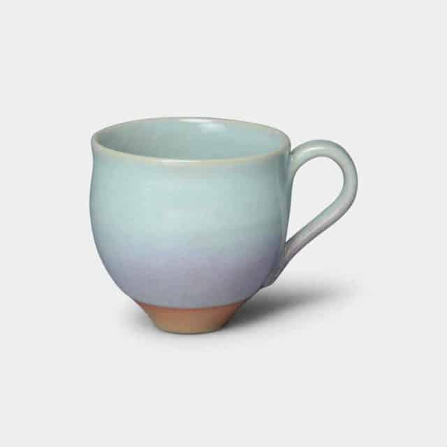 【京焼-清水焼】大日 HiBiKi 月白 マグカップ