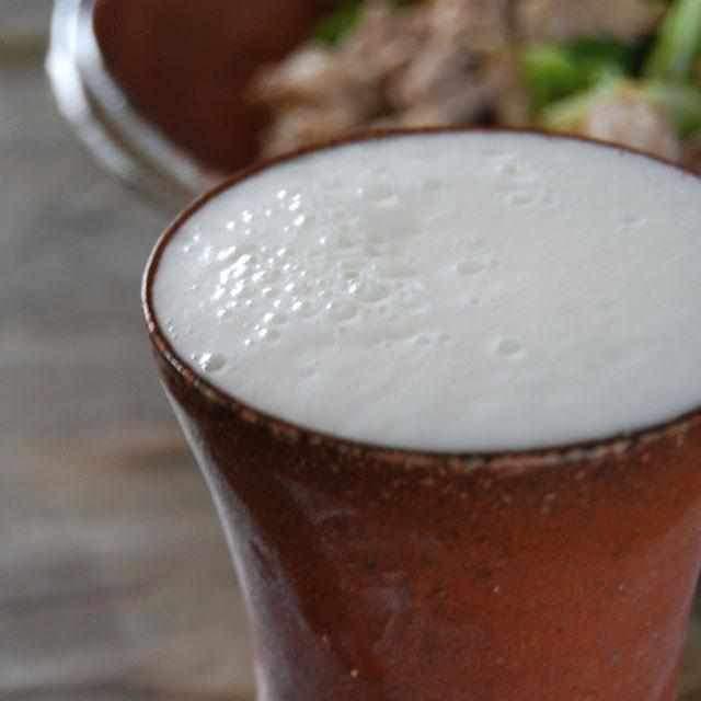 世界に一つだけしかない一点物の美しさ「備前焼ビールタンブラー」