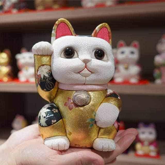 柿沼人形 招き猫