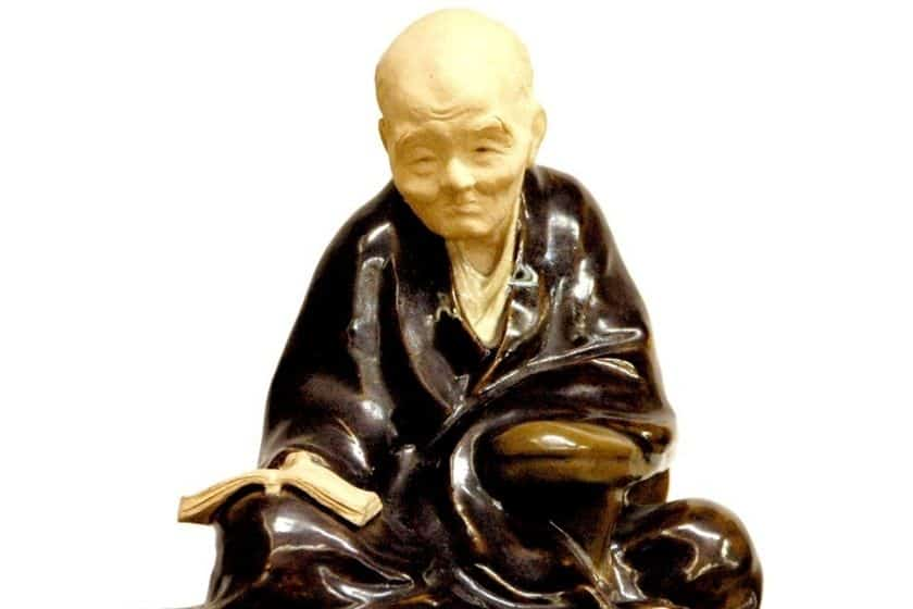 宮崎友禅の座像の写真